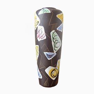 Jarrón de pie Milano de cerámica de Ruscha Keramik, años 60