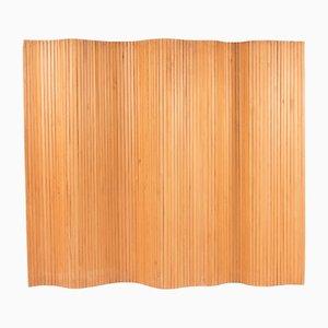 Biombo de pino de Alvar Aalto, años 40