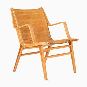 Ax Bentwood Armchair by Peter Hvidt & Orla Møllgaard Nielsen for Fritz Hansen, 1950s