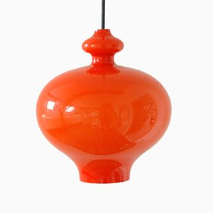 Vintage Swedish Glass Pendant Light from Hans Agne Jakobsson AB Markaryd