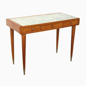 Lady Desk with Inlay by Carlo de Carli, 1940s