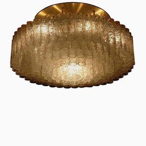 Lampada da soffitto a incasso grande vintage di Doria Leuchten
