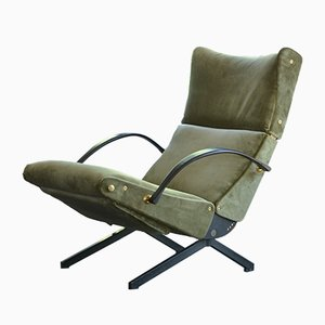 Vintage P40 Armchair by Osvaldo Borsani for Tecno