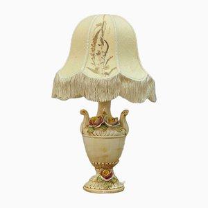 Italienische Vintage Lampe aus Porzellan