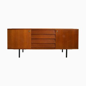Sideboard with Brass Handles, 1950s