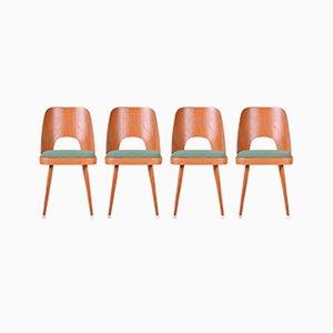 Chaises de Salon Vintage par Oswald Haerdtl, Set de 4