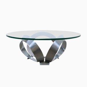 Mesa de centro Diamond alemana de Knut Hesterberg para Ronald Schmitt, años 60