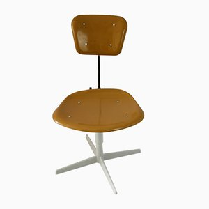 Industrial Steel and Plastic Chair, 1970s