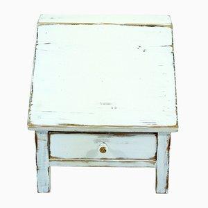 Mobiletto per scrivania antico, inizio XX secolo