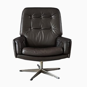 Leather Armchair from Farstrup Møbler, 1970s