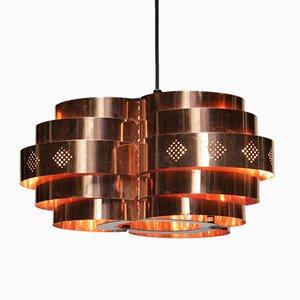 Lampe à Suspension Vintage par Verner Schou pour Coronell Elektro, Danemark