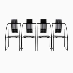 Quinta Chairs by Mario Botta for Alias, 1986, Set of 4