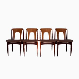 Chaises de Salon Mid-Century par Elliot's of Newbury, Set de 4