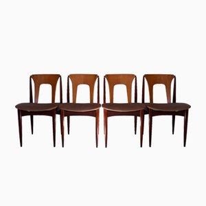 Mid-Century Dining Chairs by Elliotts of Newbury, Set of 4