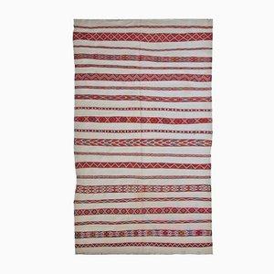 Vintage Handmade Moroccan Kilim Rug, 1950s