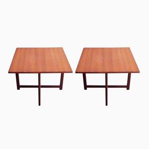 Mesas de centro danesas de Durup, años 60. Juego de 2
