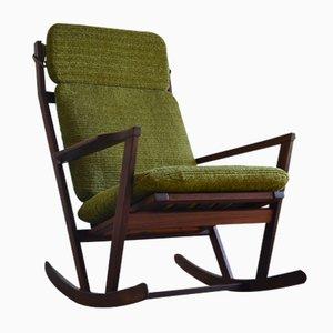 Sedia a dondolo di Poul Volther per Frem Røjle, anni '60