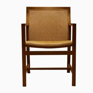 Mid-Century King Series Mahogany & Leather Chair by Thygesen & Sørensen for Fredericia