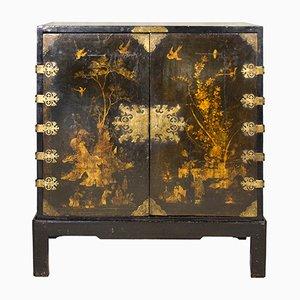 Mueble inglés lacado, década de 1700