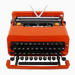 Italian Valentine Travel Typewriter by Ettore Sottsass & Perry A. King for Olivetti Synthesis, 1969