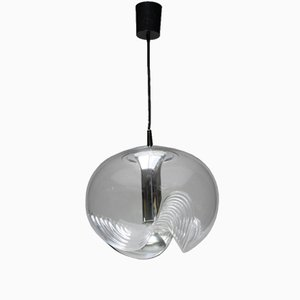 Lámpara colgante vintage grande de Peill & Putzler