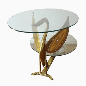 Swan Coffee Table by Henri Fernandez, 1970s