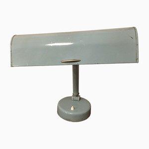Lámpara de escritorio industrial vintage con cuello de ganso flexible