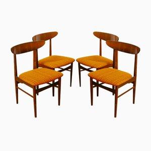 Sillas de comedor de jacaranda de Skovby, 1969. Juego de 4