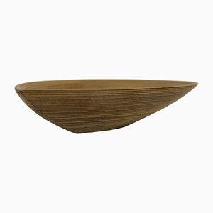 Vintage Schichtholz Schale in Blätterform von Tapio Wirkkala für Soinne et Kni
