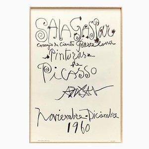 Original Picasso Lithography by Pablo Picasso, 1960