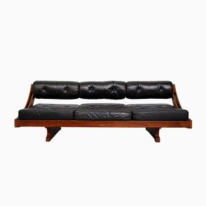 GS 195 Rosewood Daybed Sofa by Gianni Songia for Sormani, 1963