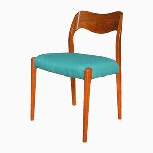 Vintage Model 71 Chair by Niels O. Møller for J.L. Møllers