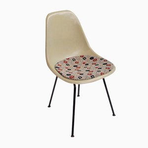 Vintage DSX Fiberglass Side Chair by Charles & Ray Eames for Herman Miller