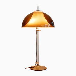 Vintage Schreibtischlampe oder Tischlampe mit Verstellbarer Perspex Leuchte