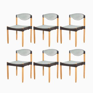 Strax Chairs by Hartmut Lohmeyer for Casala, 1981, Set of 6
