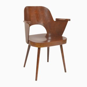 Plywood Chair by Oswald Heardtl for Ton, 1960s