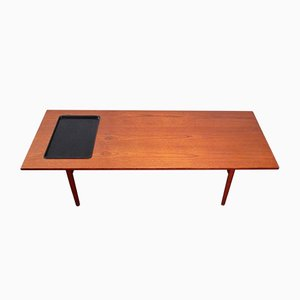 Vintage Coffee Table by Grete Jalk for P. Jeppesen