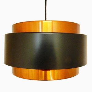 Lámpara colgante Saturn vintage de Jo Hammerborg para Fog & Mørup