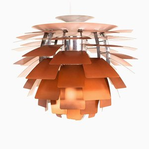 Copper Artichoke Pendant Lamp by Poul Henningsen for Louis Poulsen