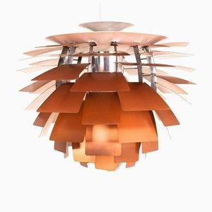 Lampe à Suspension Artichoke en Cuivre par Poul Henningsen pour Louis Poulsen