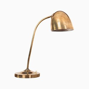 Vintage Brass Table Lamp by Vilhelm Lauritzen, 1940s