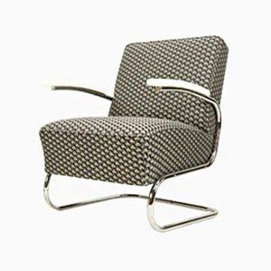 Butaca Cantilever vintage con tela Bauhaus 3D de Mücke & Melder