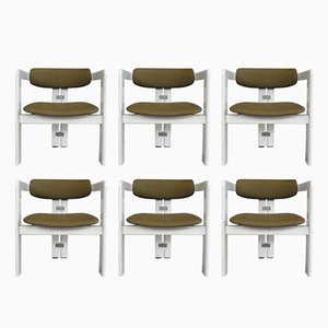 Italian Pamplona Chairs by Augusto Savini for Pozzi, 1965, Set of 6