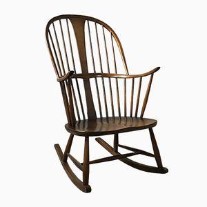 Rocking Chair Mid-Century Windsor de Ercol, 1960s