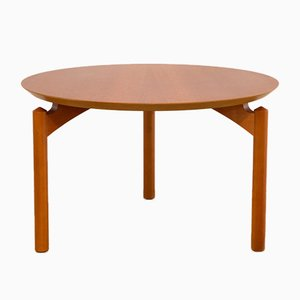 Round Symphony Coffee Table by Grum Troels Schwensen for Poul Jeppesen, 1960s