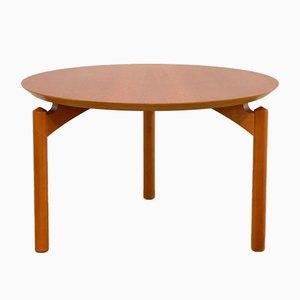 Tavolino da caffè Symphony rotondo di Grum Troels Schwensen per Poul Jeppesen, anni 60