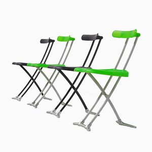 Rondine Folding Chairs by Toshiyuki Kita for Magis, 1992, Set of 4
