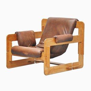 Sillón Mid-Century de contrachapado de Arne Jacobsen para Fritz Hansen