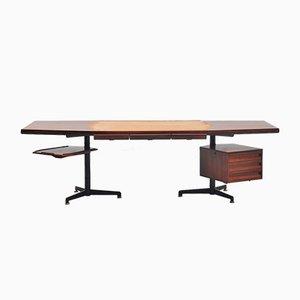 Italienischer Mid-Century Schreibtisch von Osvaldo Borsani für Tecno