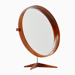 Mid-Century Swedish Table Mirror by Uno & Osten Kristiansson for Luxus